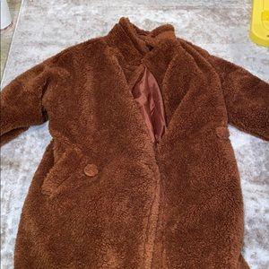 Fashion Nova Teddy Trench Coat